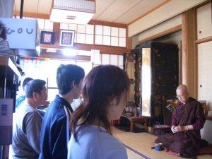 Sesshin at Ippoan